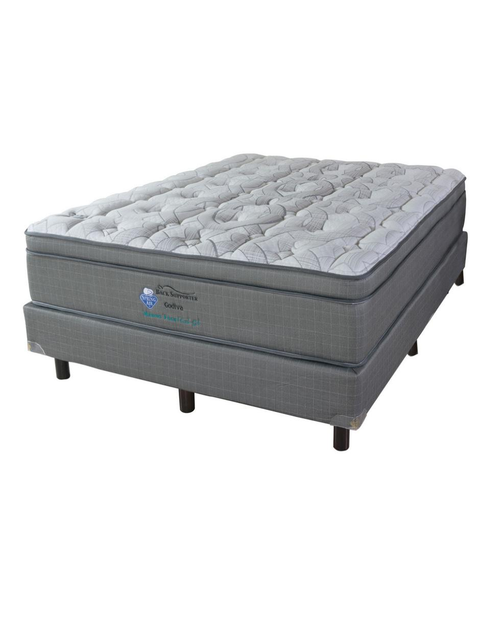 Spring air colch n king size godiva - Colchones spring ...